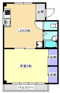 平成ビル【1LDK】